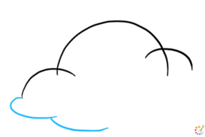 How to draw cloud