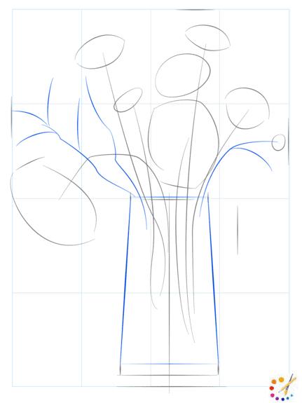 Как нарисовать цветок