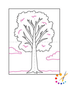Tree Drawing Easy