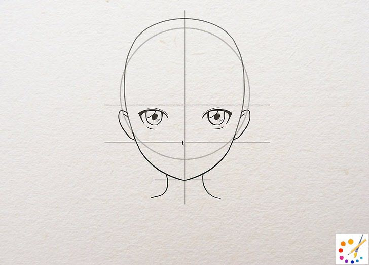 How to draw a anime girl