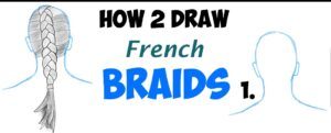 How to draw braid