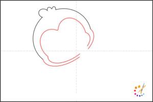 How to draw monkey