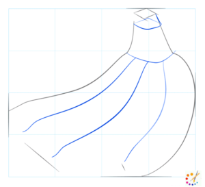 How to draw banana