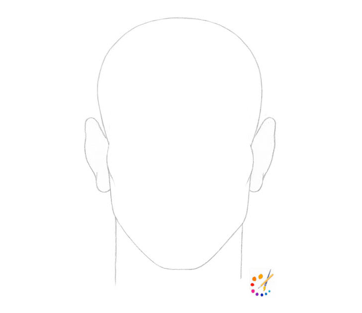 How to draw male hair