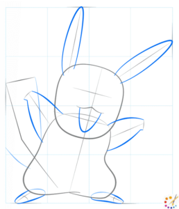 How to draw a pikachu