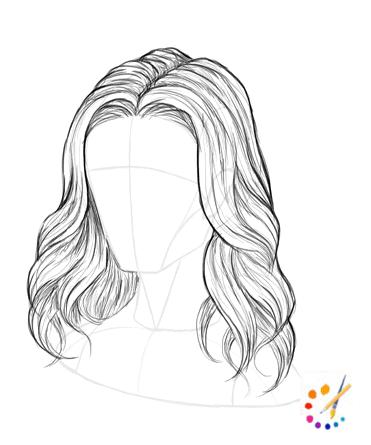 hairs Drawing