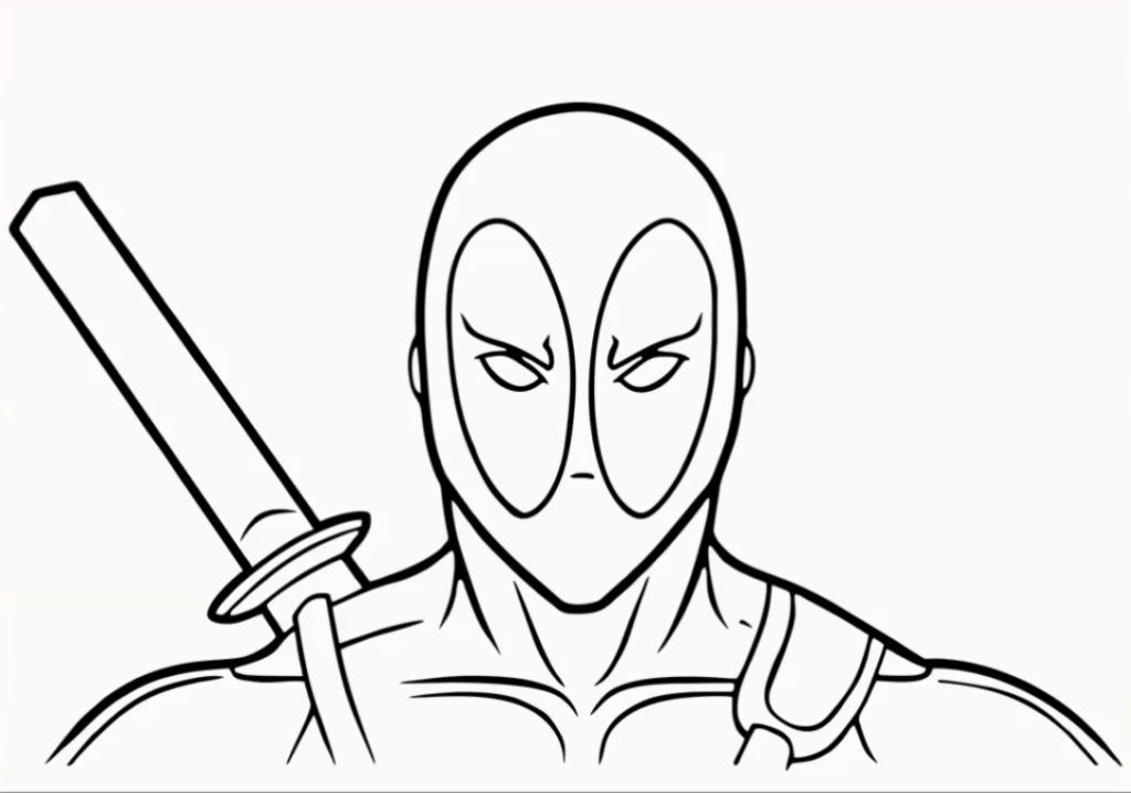 How to Draw A deadpool