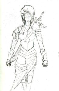 How to draw an armor