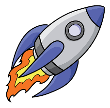 How to draw rocket