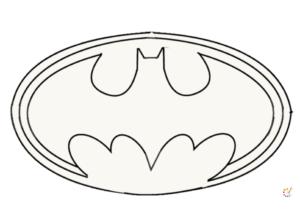 Draw Batman Logo
