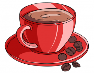 How to draw a cup of cooffee